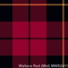 Wallace Red Muted Mediumweight Kilting Cloth By The Metre